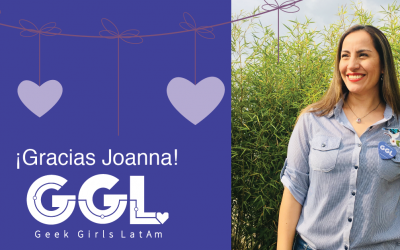 ¡Gracias Joanna Prieto!