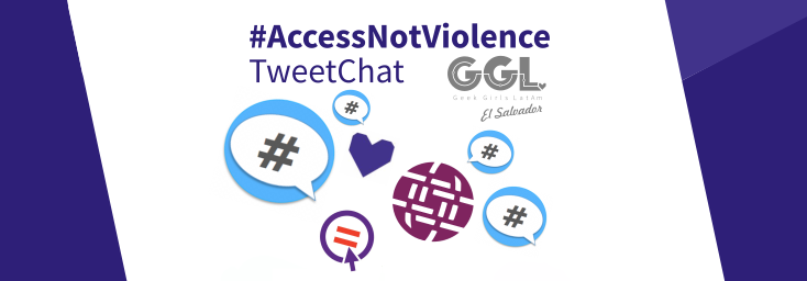 TweetChat #AccessNotViolence