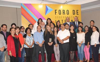 Foro de Gobernanza en Internet 2018, El Salvador.